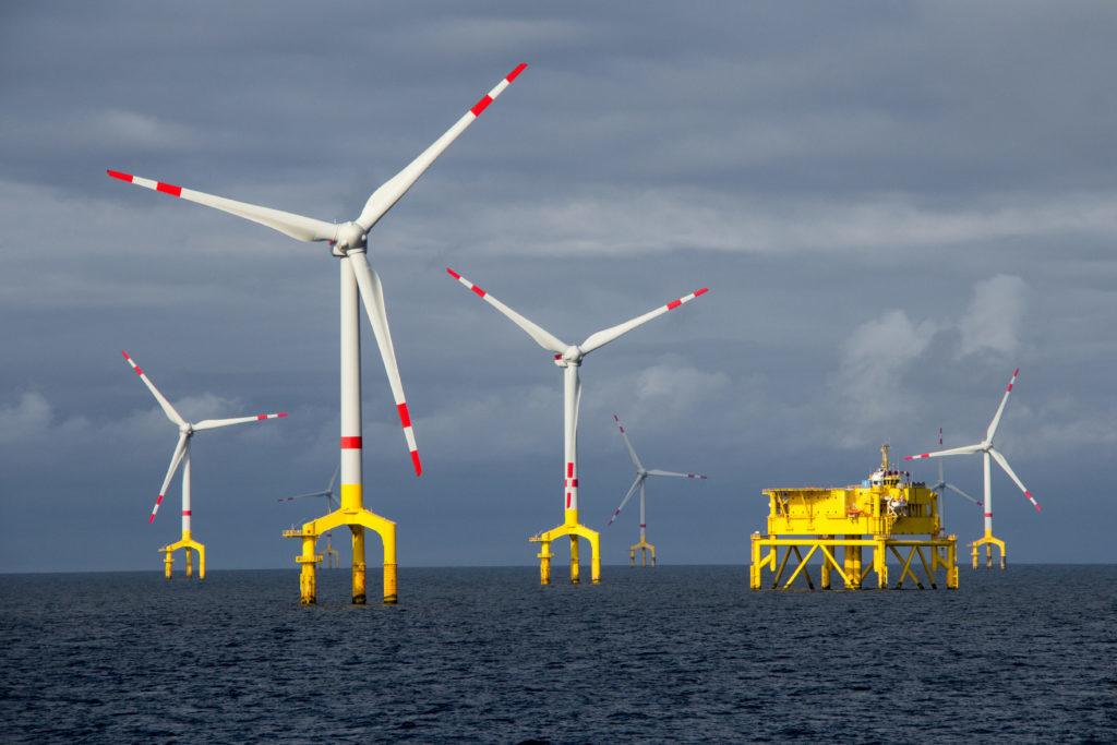 Erste Hilfe Offshore Windpark Nordsee