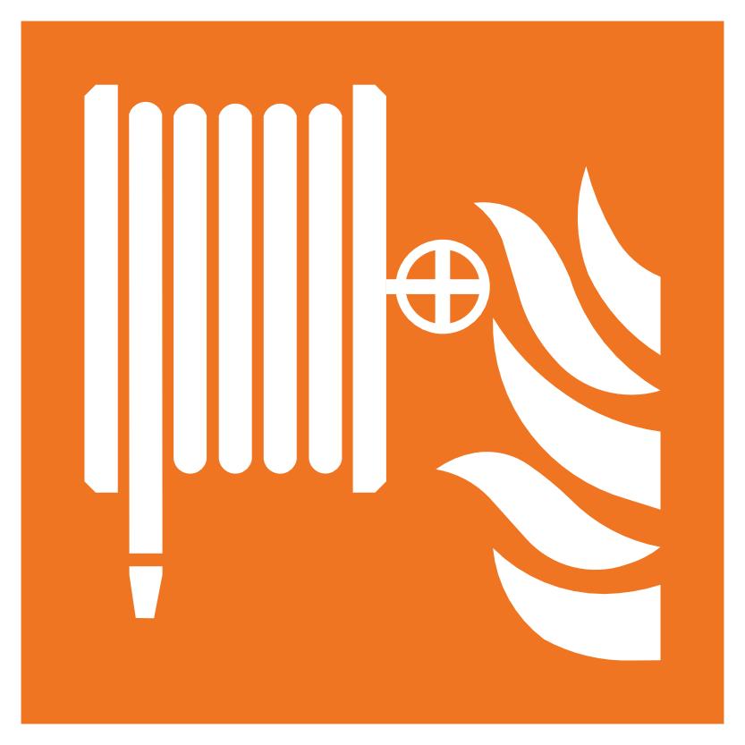 Hydrant Hinweisschild für Brandschutzhelfer