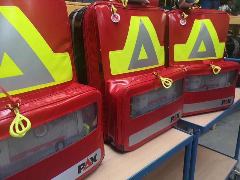 Notfallrucksack für Erste Hilfe Betriebssanitäter und Erste Hilfe Offshore