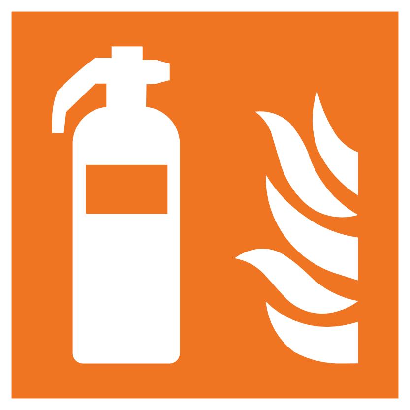 Feuerlöscher Hinweisschild für Brandschutzhelfer